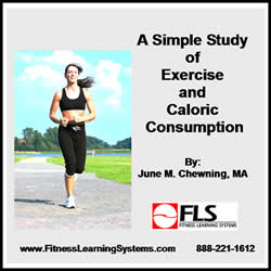 A Simple Study of Exercise and Caloric Consumption Image