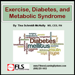 Exercise, Diabetes, and Metabolic Syndrome Image