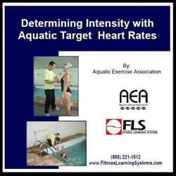 Determining Intensity with Aquatic Target Heart Rates Image